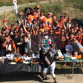 Hall of Fame Tailgate - Bengal Bomb Squad West