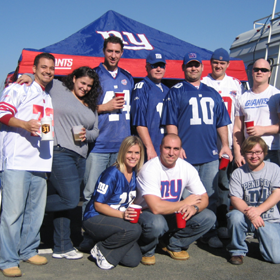 New York Giants Tailgating