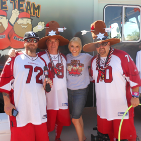 Tailgating Hall of Fame - Cardinals #1 Tailgate Team