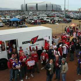 Hall of Fame Tailgate in Arizona